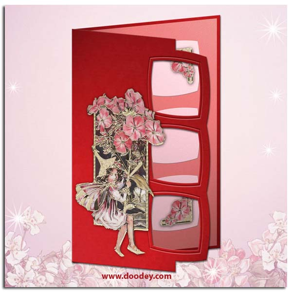 Mallow Flower Fairy Flower Fairy Card Phlox