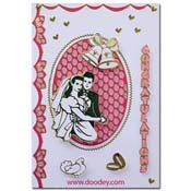 wedding card bells and ring