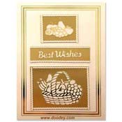 best wishes card fruitbasket