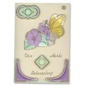 embroidery get well butterfly