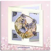 flower fairy card chicory