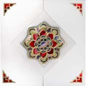 mandala card with multilens