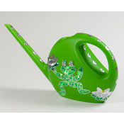 watering can with a frog