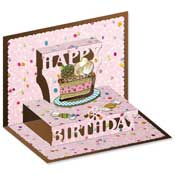 3D pop-up happy birthday card