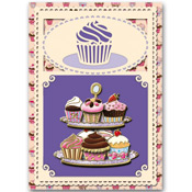 3D Match-it Cupcake card