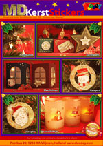 MD-Kerst stickers