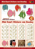 Mini Kaart Stickers