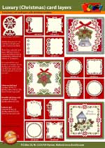 Luxury Christmas cardlayers