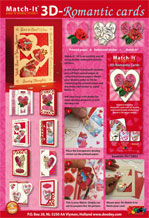 Match-It 3D-Romantic cards