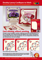 Doodey Cardlayers to Stitch